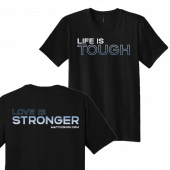 Matt Kennon Unisex Life Is Tough Black Tee