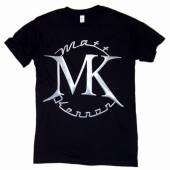 Matt Kennon Black FRONT ONLY Logo Tee